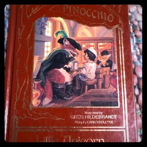 Other - Vintage Pinocchio book